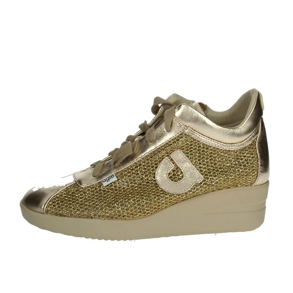Agile By Rucoline  Shoes Sneakers Gold 226