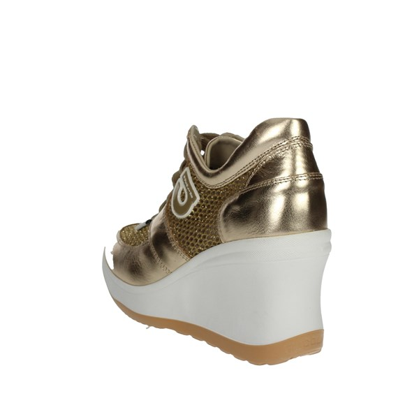 Agile By Rucoline  Shoes Sneakers Gold 1800