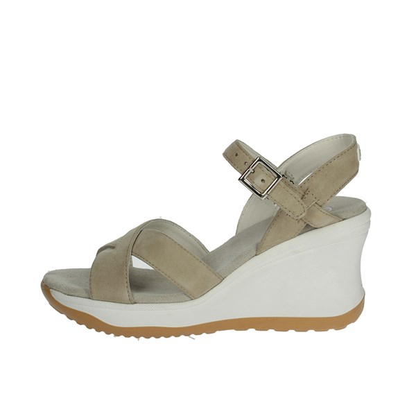 Agile By Rucoline  Shoes Sandals Beige 1871