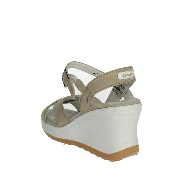 Agile By Rucoline  Shoes Sandal Beige 1871
