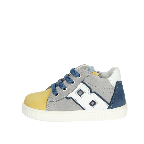 Balducci Shoes Sneakers Grey/Yellow  MSPORT2708