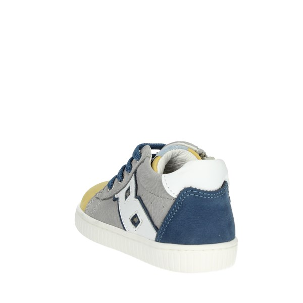 <Balducci Shoes Sneakers Grey/Yellow  MSPORT2708