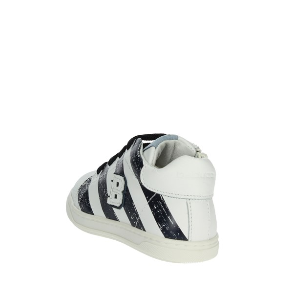 <Balducci Shoes Sneakers White/Blue MSPORT2906