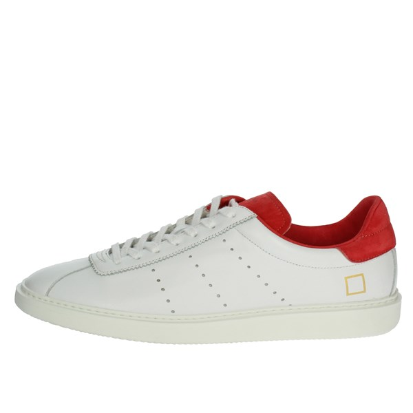 D.a.t.e. Shoes Sneakers White/Red E19-134