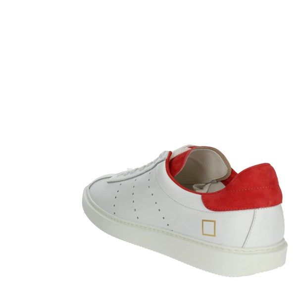 <D.a.t.e. Shoes Sneakers White/Red E19-134
