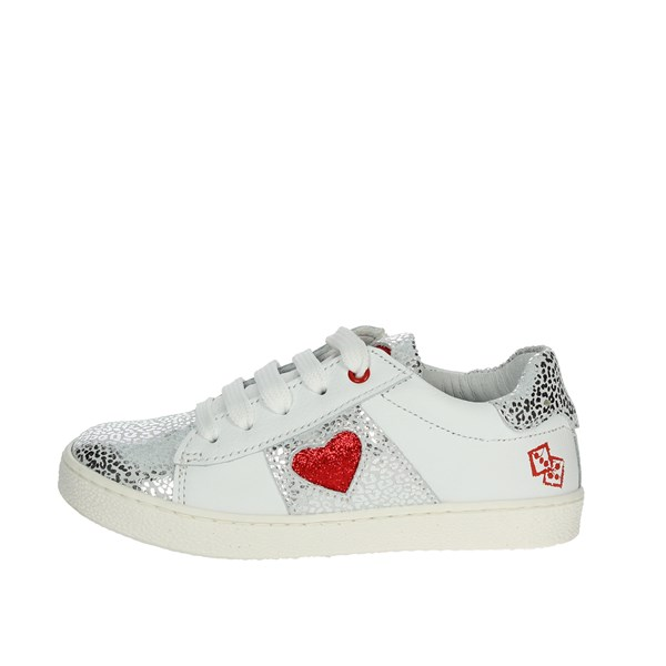 Melania Shoes Sneakers White/Red ME9200D9E.C
