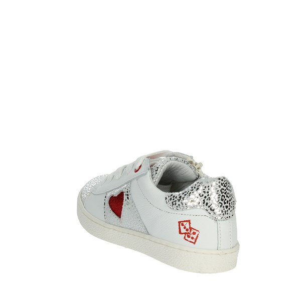 <Melania Shoes Sneakers White/Red ME9200D9E.C