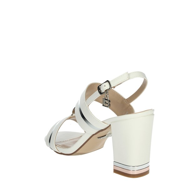 Laura Biagiotti Shoes Sandal White/Silver 5512