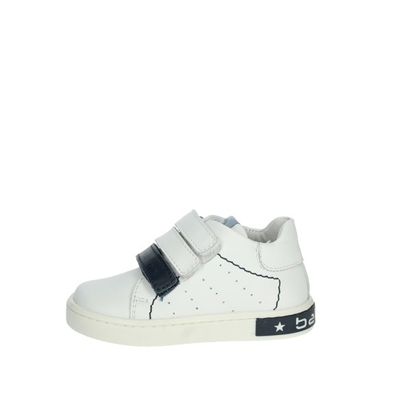 Balducci Shoes Sneakers White/Blue MSPORT3009