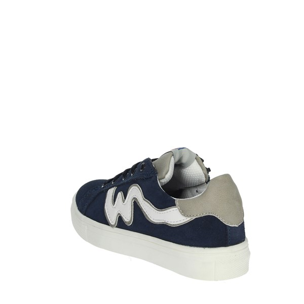 <Balducci Shoes Sneakers Blue BS524