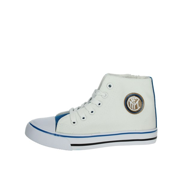 Inter  Shoes Sneakers White/Light Blue S19044MG