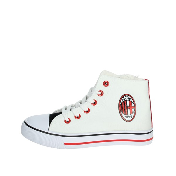 Milan Shoes Sneakers White/Red S19059