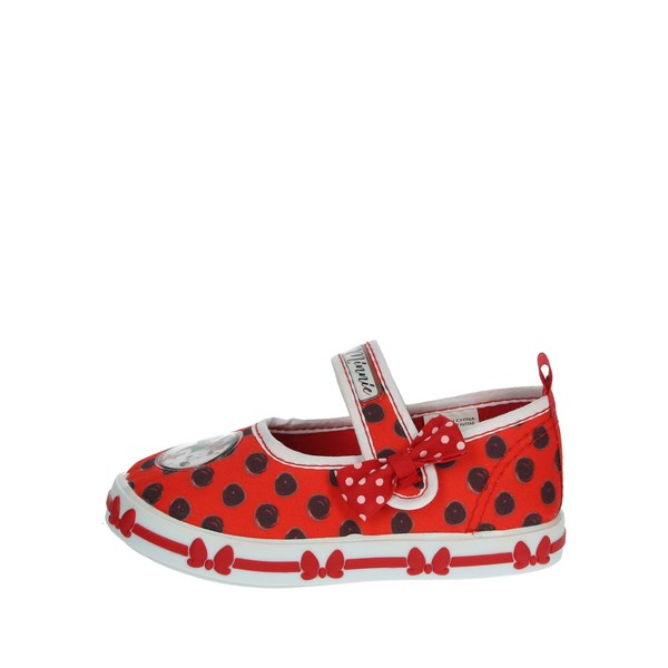 Disney Minnie Mouse Shoes Ballet Flats Red S21316