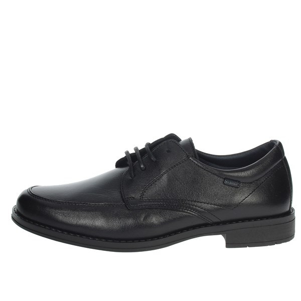 Baerchi Shoes Laced Black 3622S