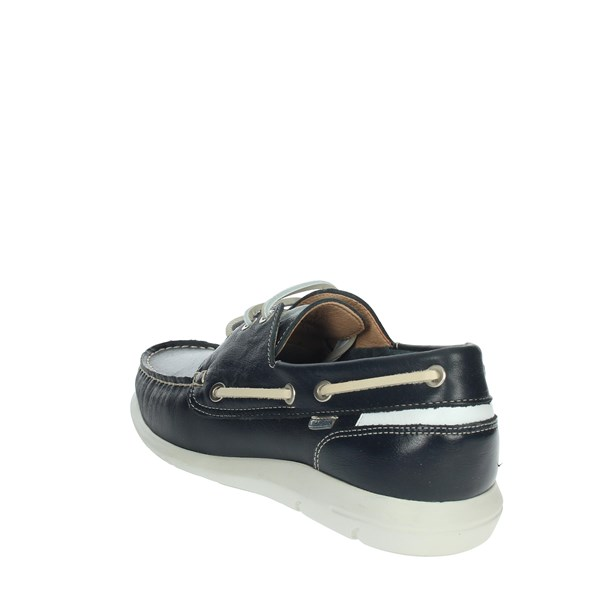 Baerchi Shoes Moccasin Blue 7950