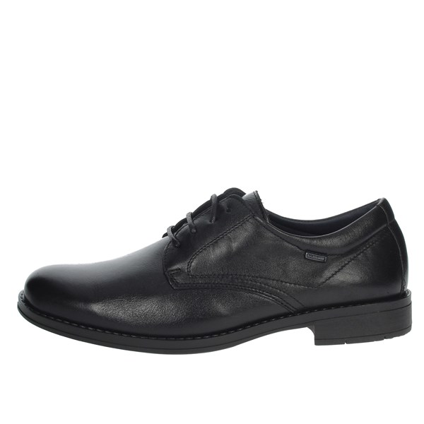 Baerchi Shoes Laced Black 3620D