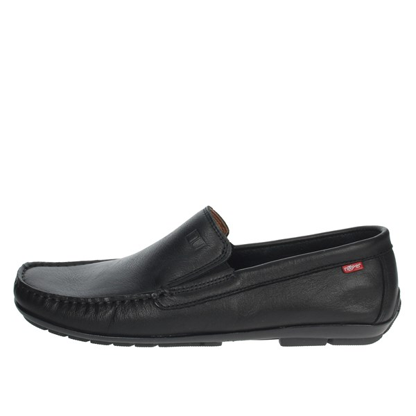 Nuper Shoes Moccasin Black 7901