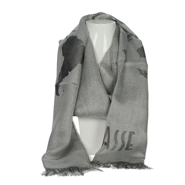 1 Classe Accessories Scarves Silver K 0342