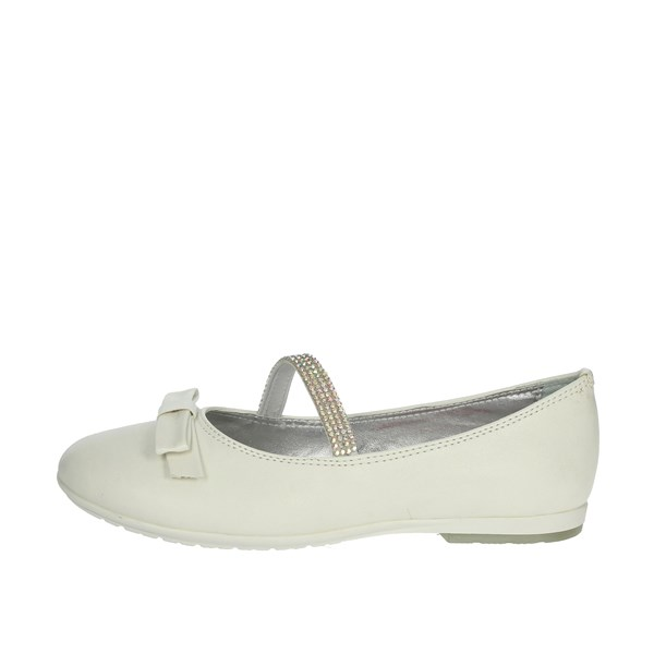 Asso Shoes Ballet Flats White AG-508