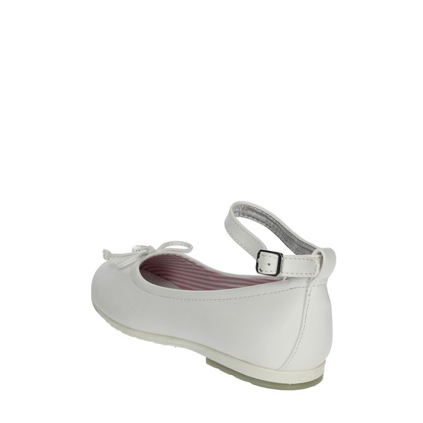 Asso Shoes Ballet Flats White AG-501