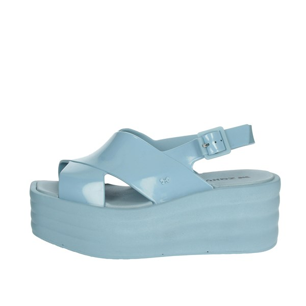 Zaxy Shoes Sandals Sky-blue 17367
