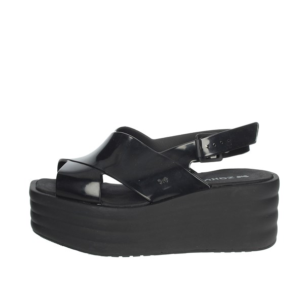 Zaxy Shoes Sandals Black 17367