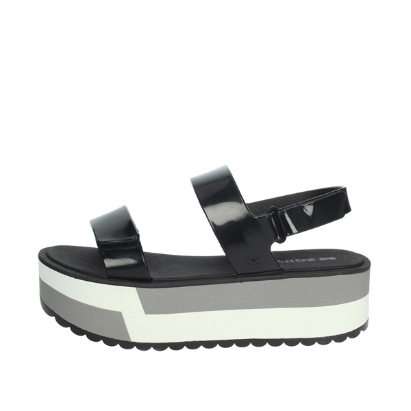 Zaxy Shoes Sandals Black/White 17525
