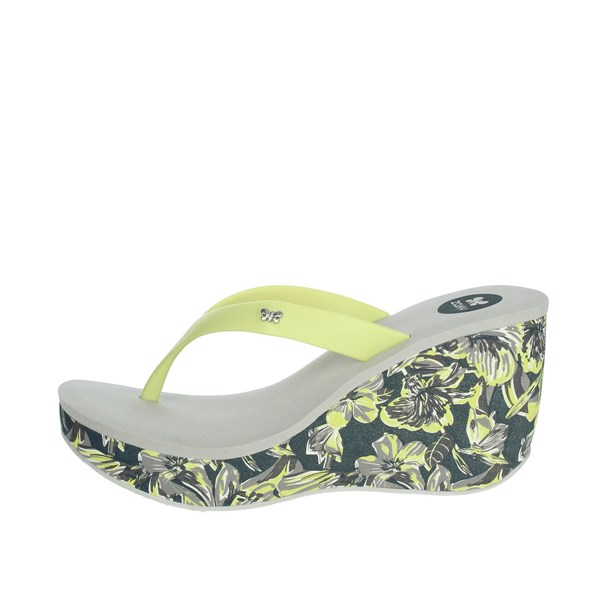 Zaxy Shoes Flops Grey/Yellow  82296
