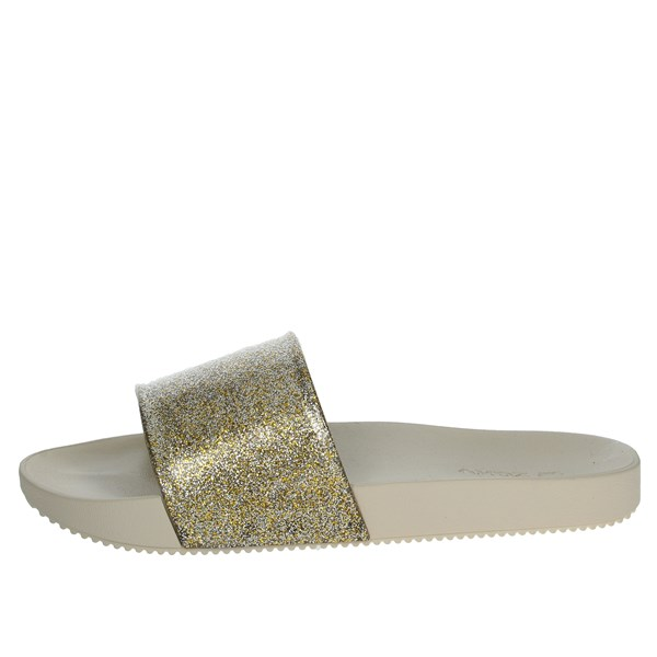Zaxy Shoes slippers Gold 82440