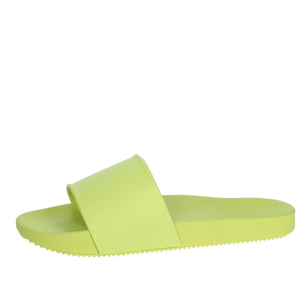 Zaxy Shoes slippers Yellow-Fluo 17333