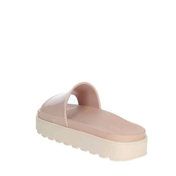 Zaxy Shoes slippers Light dusty pink 17362