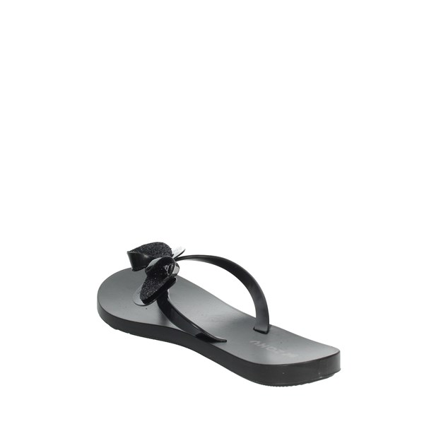 Zaxy Shoes Flops Black 82452