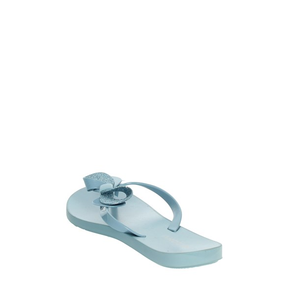 Zaxy Shoes Flops Sky-blue 82452