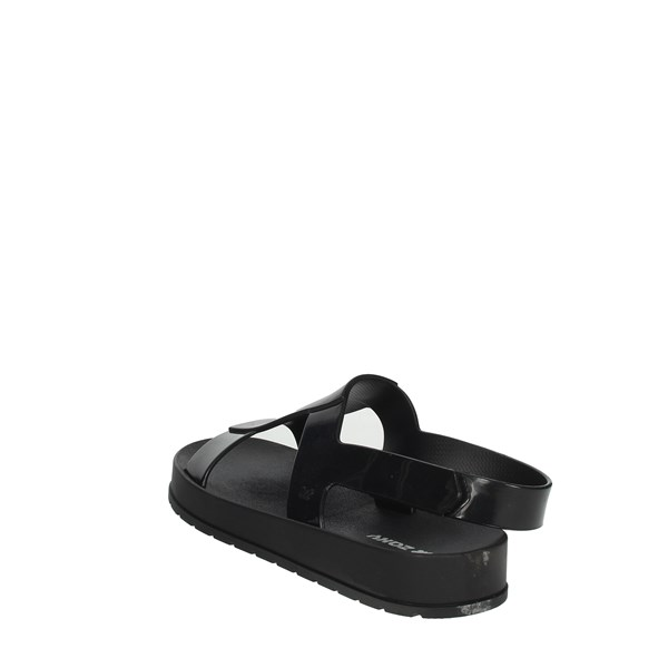 Zaxy Shoes Sandals Black 17368