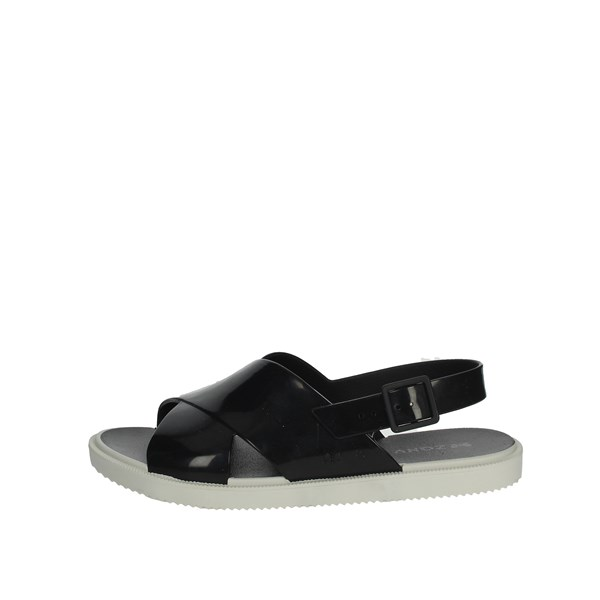 Zaxy Shoes Sandals Black 17360