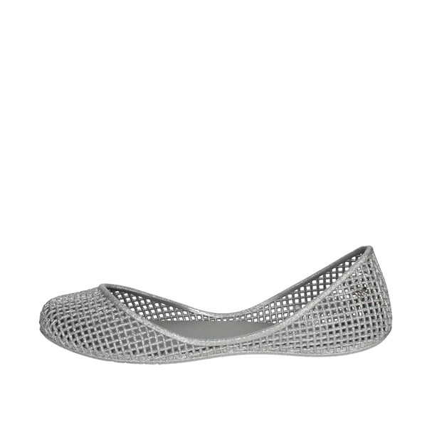 Zaxy Shoes Ballet Flats Silver 81982