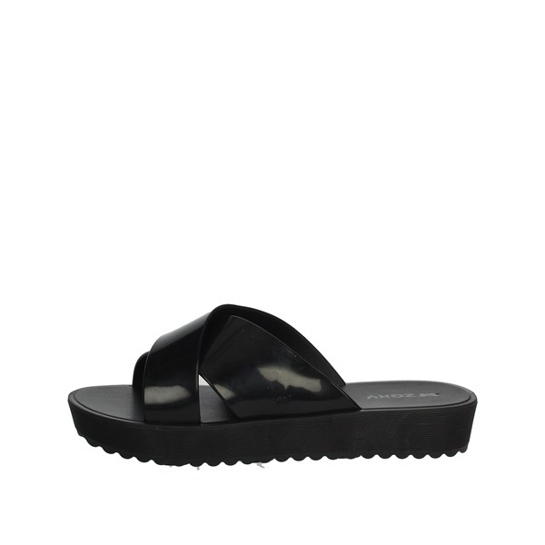 Zaxy Shoes slippers Black 17504