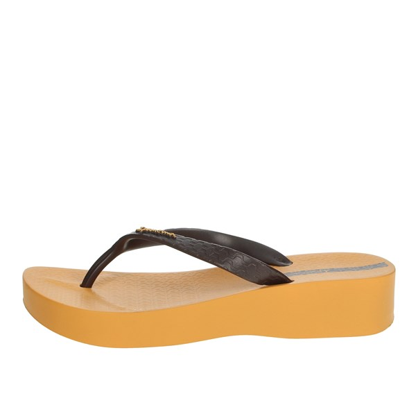 Ipanema Shoes Flops Yellow 80129