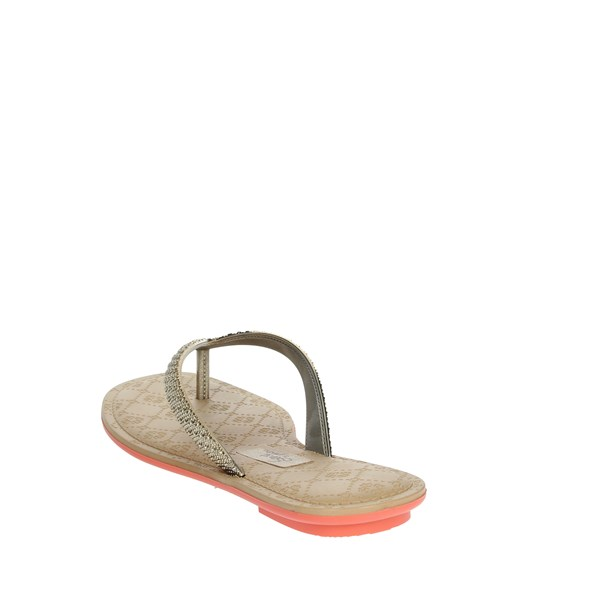 <Grendha Shoes Flops Gold 17189