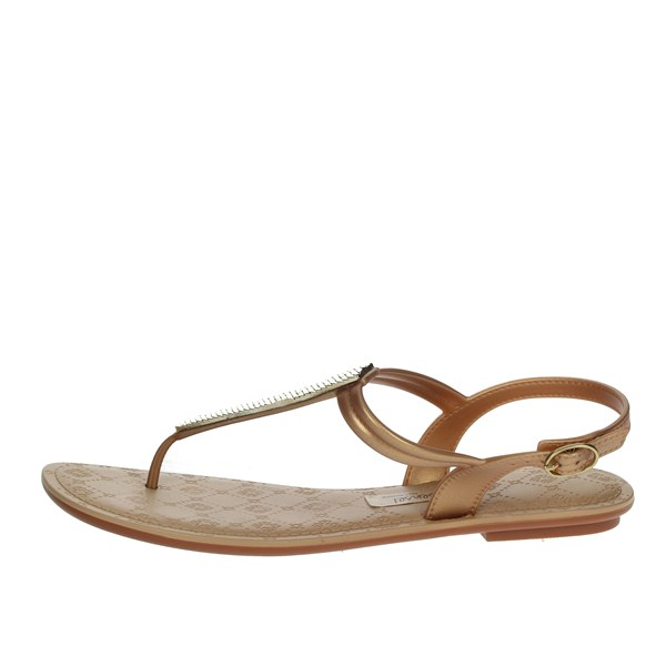 Grendha Shoes Sandals Gold 82358