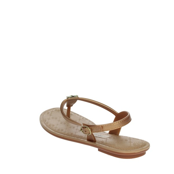 <Grendha Shoes Sandals Gold 82358