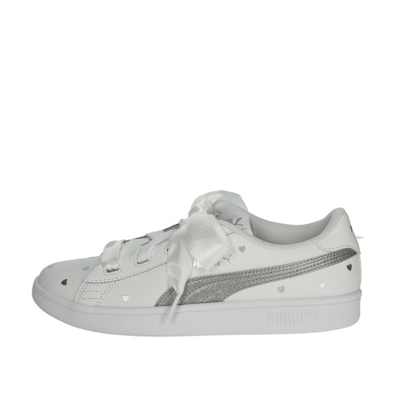Puma Shoes Sneakers White/Silver 370782 02