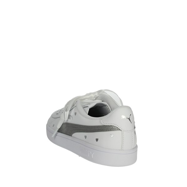 <Puma Shoes Sneakers White/Silver 370782 02