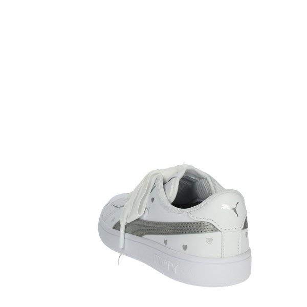 Puma Shoes Sneakers White/Silver 370783 02