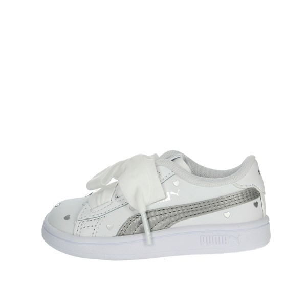 Puma Shoes Sneakers White/Silver 370784 02