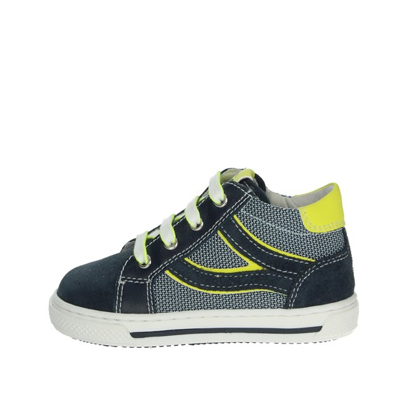 Nero Giardini Shoes Sneakers Blue/Yellow P923440M