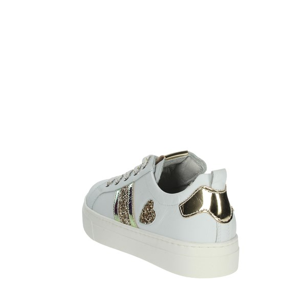 Nero Giardini Shoes Sneakers White/Gold P930910F