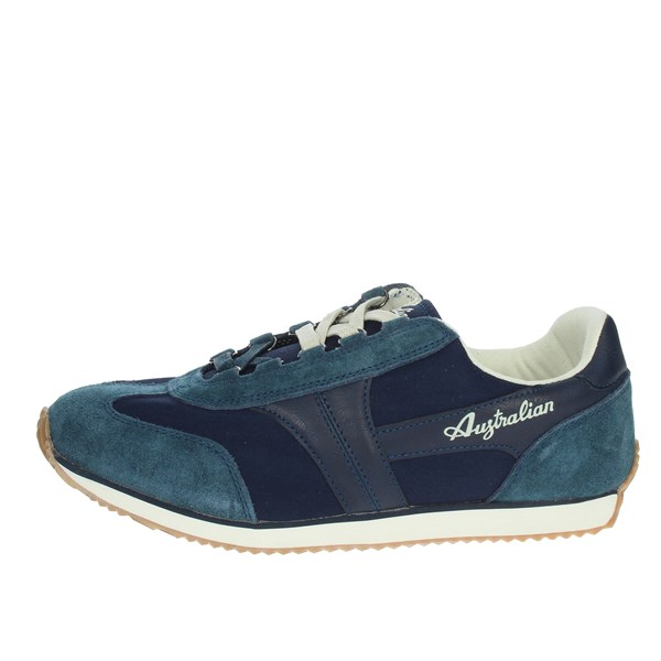 Australian Shoes Sneakers Blue AU424