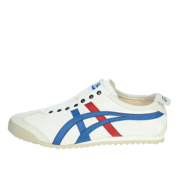 Onitsuka Tiger Shoes Sneakers White/Light Blue D3K0N
