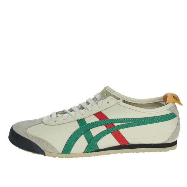 Onitsuka Tiger Shoes Sneakers Beige/green DL408